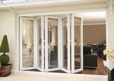 Folding And Sliding Aluminium Doors Give An Unrestricted View Of Your Garden Allow You To Open Up Entire Wall Room Converting It A